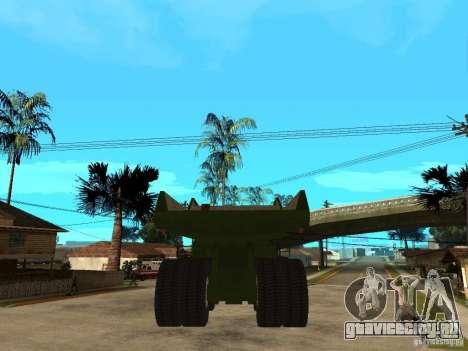 Belaz для GTA San Andreas вид сзади слева