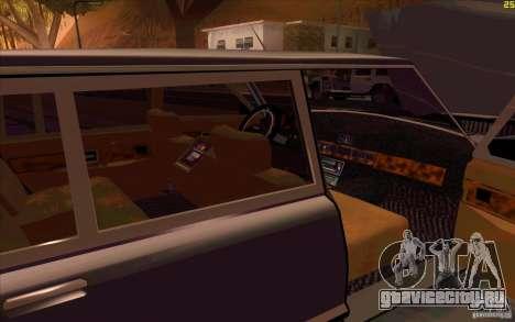 ЗиЛ 41041 для GTA San Andreas вид снизу