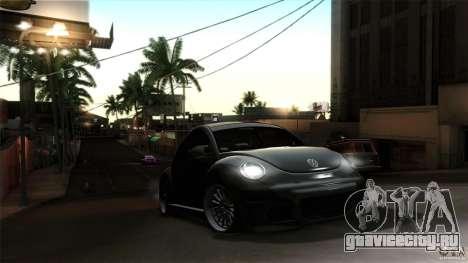 Volkswagen Beetle RSi Tuned для GTA San Andreas вид сбоку