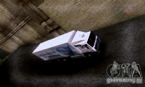 Volvo F10 для GTA San Andreas вид справа