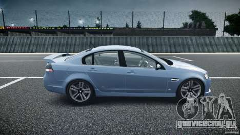 Holden Commodore SS (CIVIL) для GTA 4 вид изнутри