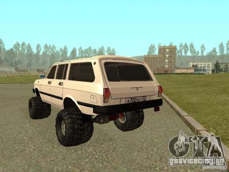 ГАЗ 31022 Волга 4х4 для GTA San Andreas вид справа