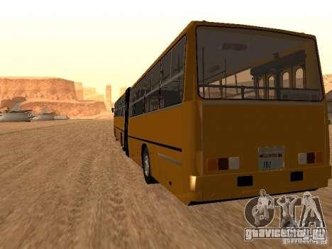 Прицеп к Икарусу 280.33 для GTA San Andreas вид слева