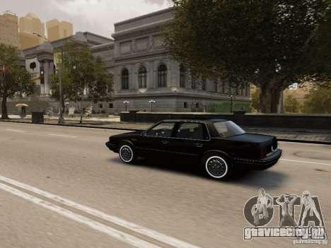 Oldsmobile Cutlass Ciera 1993 для GTA 4 вид сверху