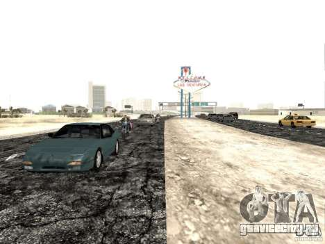New roads in Las Venturas для GTA San Andreas третий скриншот