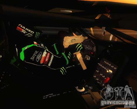 Chevrolet Corvette Drift для GTA San Andreas вид сзади