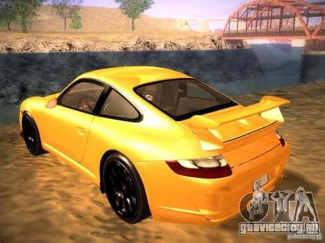 Porsche 911 для GTA San Andreas вид сбоку