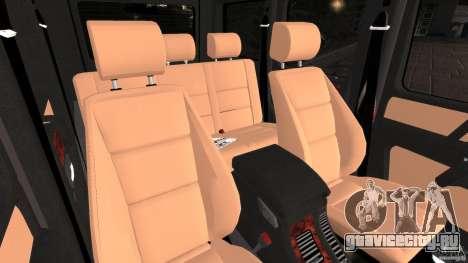 Mercedes-Benz G55 AMG для GTA 4 вид сзади