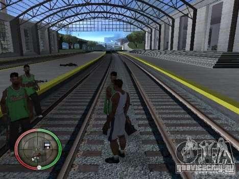 Дождь из людей для GTA San Andreas пятый скриншот