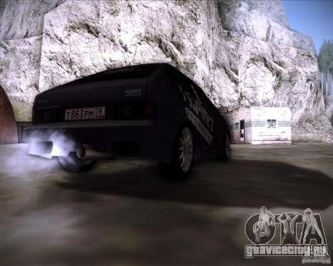 ВАЗ 2108 K-Art для GTA San Andreas вид сзади слева