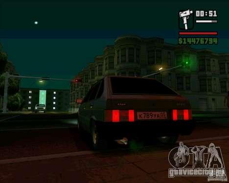VAZ 2109 05 Final для GTA San Andreas вид слева
