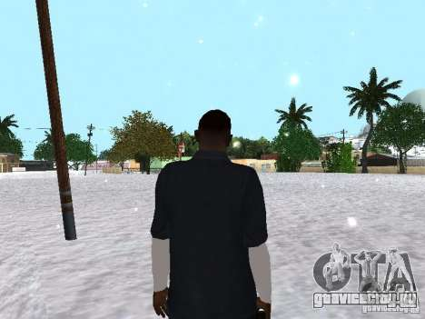 Snow MOD 2012-2013 для GTA San Andreas пятый скриншот