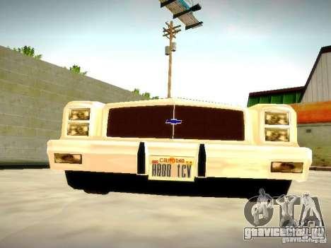 Chevrolet El Camino 1976 для GTA San Andreas вид сзади