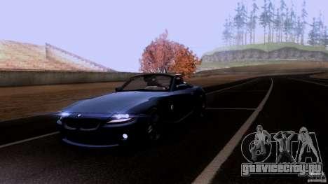 BMW Z4 V10 для GTA San Andreas вид сверху