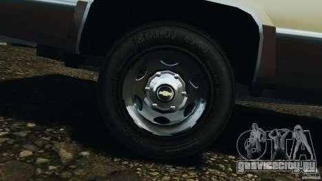 Chevrolet Silverado 1986 для GTA 4 вид сбоку