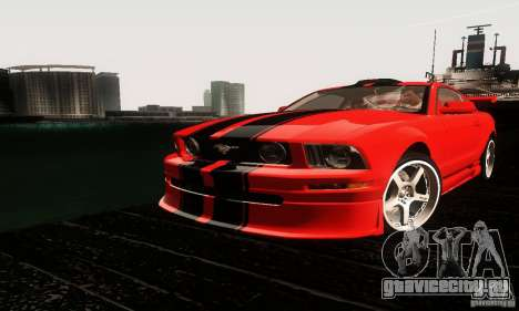 Ford Mustang GT Tunable для GTA San Andreas