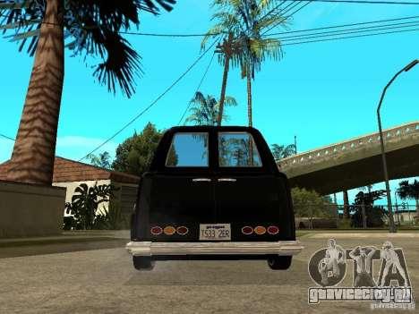 GTA IV TLAD для GTA San Andreas вид сзади слева