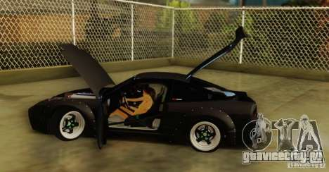 Nissan 240SX Rocket Bunny для GTA San Andreas вид справа