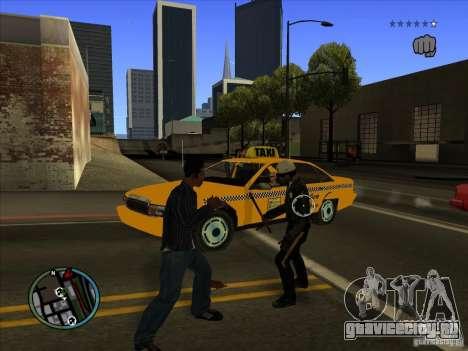 GTA IV TARGET SYSTEM 3.2 для GTA San Andreas