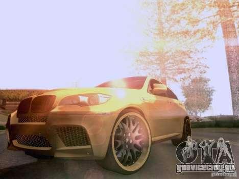 BMW X6M Hamann для GTA San Andreas двигатель