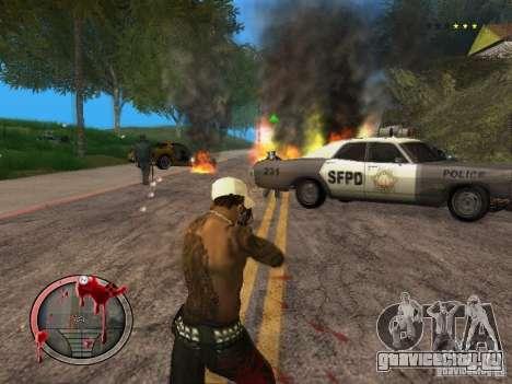 GTA IV HUD Final для GTA San Andreas пятый скриншот