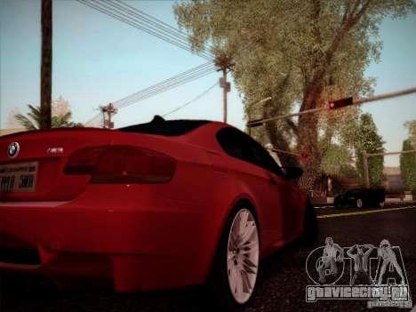 BMW E92 v2 Updated для GTA San Andreas вид справа