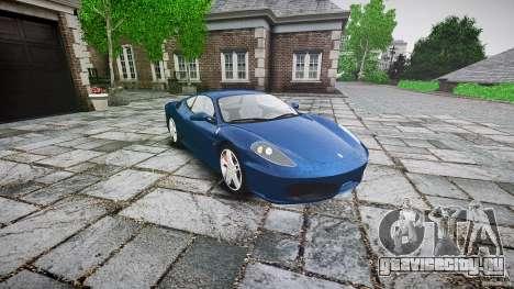 Ferrari F430 v1.1 2005 для GTA 4