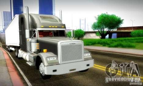 Freightliner Classic XL для GTA San Andreas вид сбоку