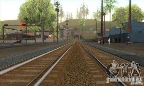 Russian Rail v2.0 для GTA San Andreas второй скриншот
