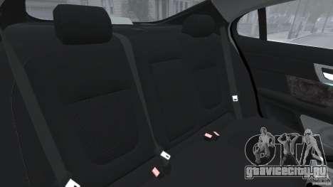 Jaguar XFR 2010 v2.0 для GTA 4 вид сбоку