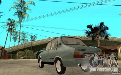 Dacia 1310 L Custom-RK для GTA San Andreas вид сзади слева