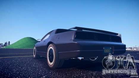 Knight Rider [EPM] для GTA 4 вид снизу
