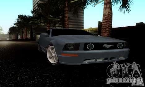 Ford Mustang GT для GTA San Andreas вид слева