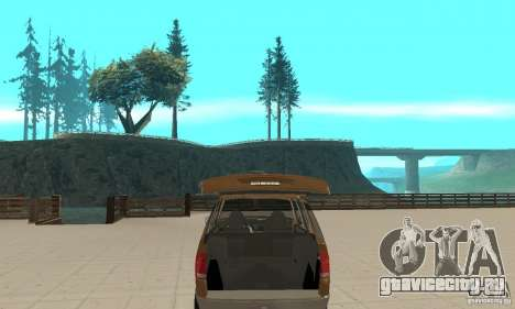 Ford Explorer 2002 для GTA San Andreas вид сбоку