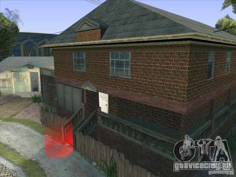 Grove Street Retextured для GTA San Andreas шестой скриншот