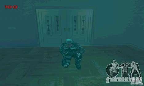 Cпецназовец из Амбреллы для GTA San Andreas восьмой скриншот