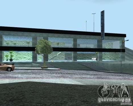 HD Автосалон для GTA San Andreas второй скриншот