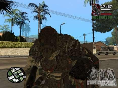 Локаст Grunt из Gears of War 2 для GTA San Andreas второй скриншот