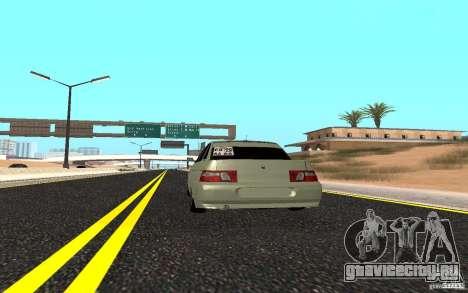ВАЗ 2110 Light Tuning для GTA San Andreas вид сзади слева