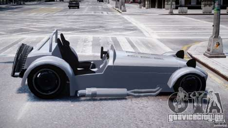 Caterham Super Seven для GTA 4 вид сзади