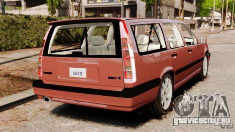 Volvo 850 Wagon 1997 для GTA 4 вид сзади слева