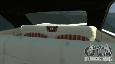 Voodoo Boat для GTA 4 вид изнутри
