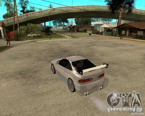 Honda Integra TUNING для GTA San Andreas вид справа