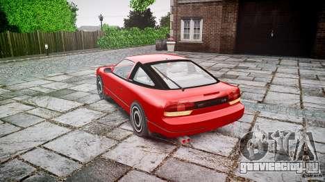 Nissan 240SX для GTA 4 вид сбоку