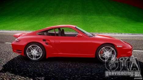Porsche 911 Turbo V3 (final) для GTA 4 вид сзади