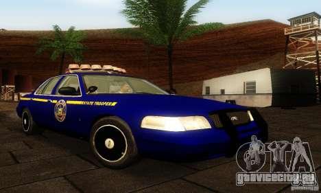 Ford Crown Victoria New York Police для GTA San Andreas