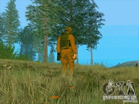 Morpeh грязевой камуфляж для GTA San Andreas третий скриншот