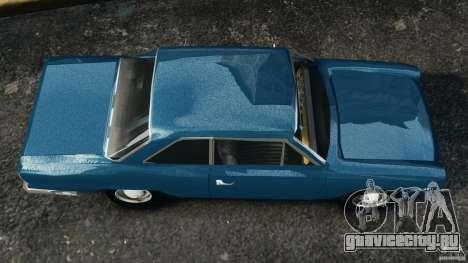 Renault Torino 380 W для GTA 4 вид справа