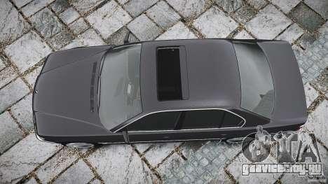 BMW 740i (E38) style 37 для GTA 4 вид сверху