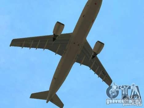 Airbus A300-600 Air France для GTA San Andreas вид сбоку